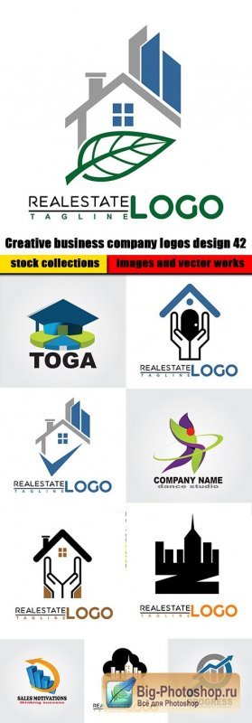 Creative business company logos design 42