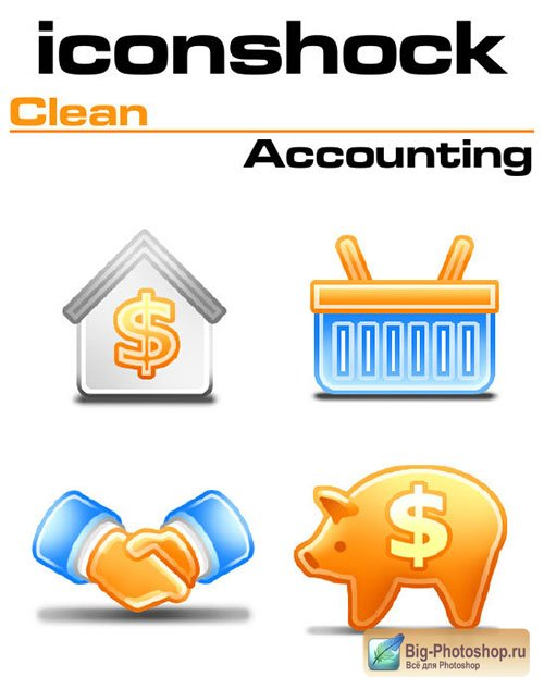 Iconshock Pack - Clean Accounting