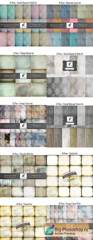 159 High-Resolution Background Textures
