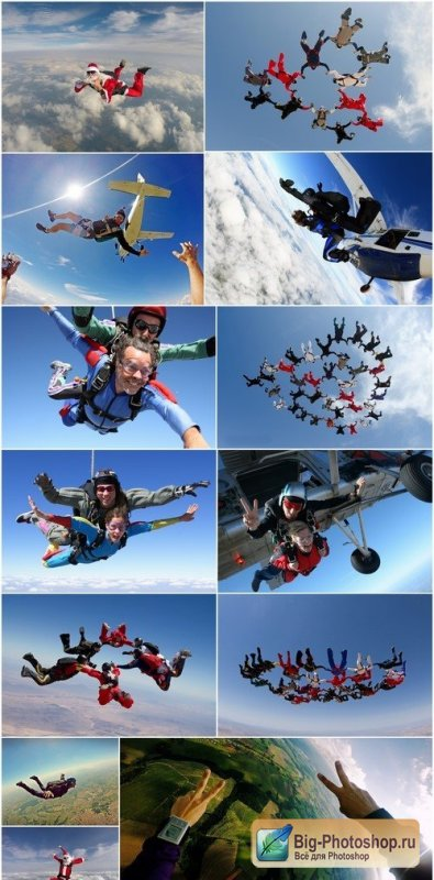 Skydiving 13X JPEG
