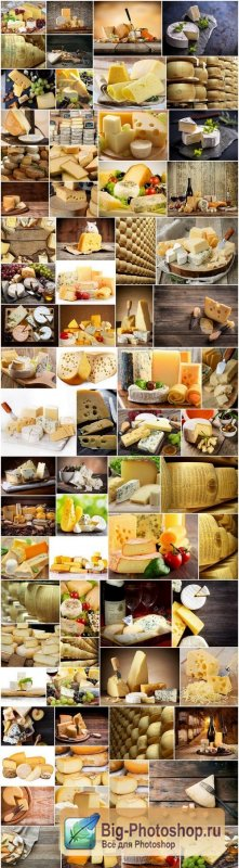Different cheeses varieties - 76xUHQ JPEG