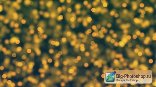 Bokeh yellow hue