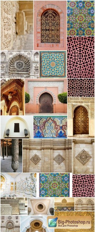 Arab architecture and ornament - 25xUHQ JPEG
