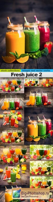 Fresh juice 2, 15 x UHQ JPEG