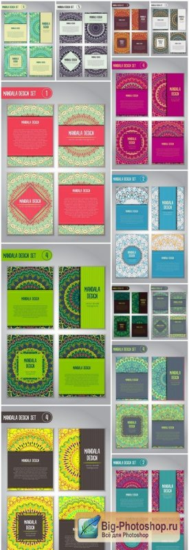 Mandala Ornamental Business Card Template