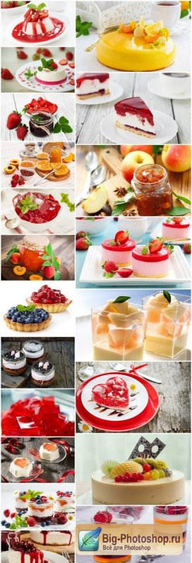 Delicate Fruit Desserts - 20 HQ Images