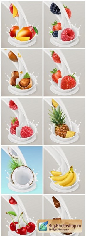 Fruit Milk Splash