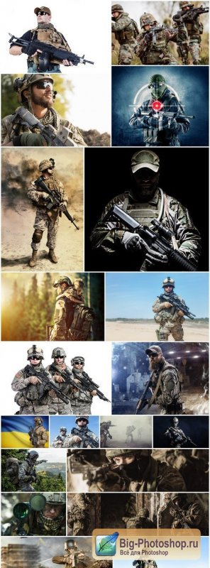 Special Forces Soldiers - 20 HQ Images