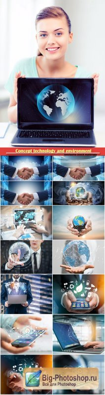 Concept technology and environment, network concept