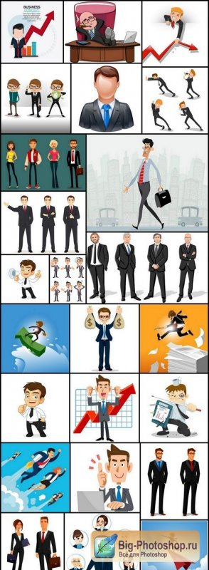 Businessman Manager - 25 Vector