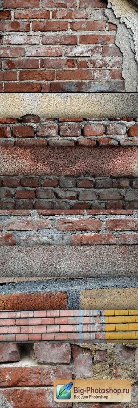 11 High Res Textures - Wall - Stock Photo