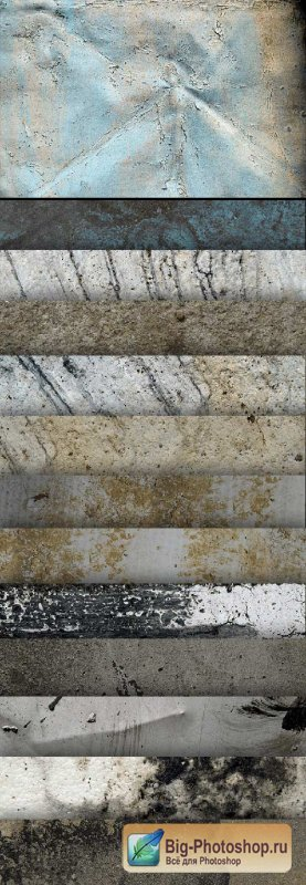 13 High Res Textures - Concrete - Stock Photo