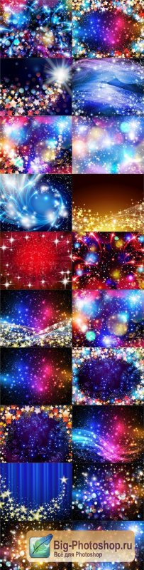Star Backgrounds 20xEPS