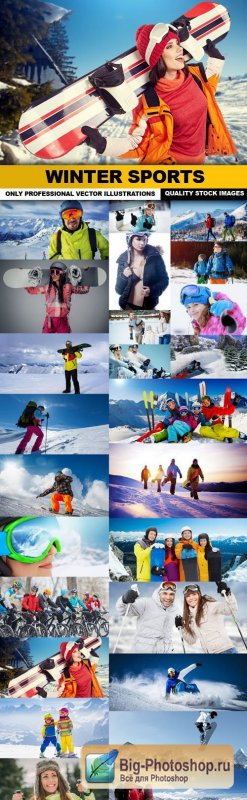 Winter Sports - 25 HQ Images