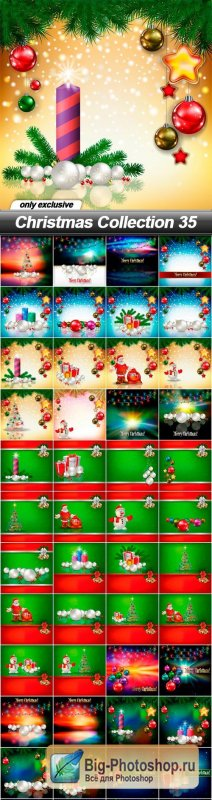Christmas Collection 35 - 48 EPS