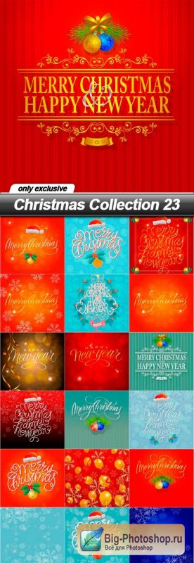Christmas Collection 23 - 22 EPS