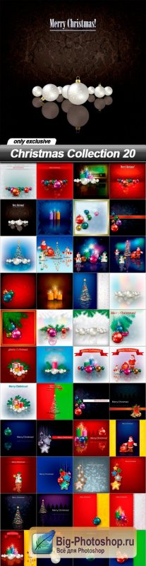 Christmas Collection 20 - 48 EPS