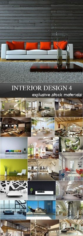 Interior Design Collection 4, 25xJPG