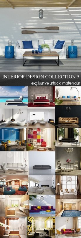 Interior Design Collection 5, 25xJPG
