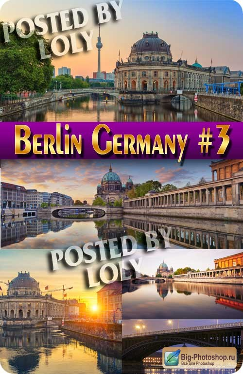 Berlin Germany #3 - Stock Photo