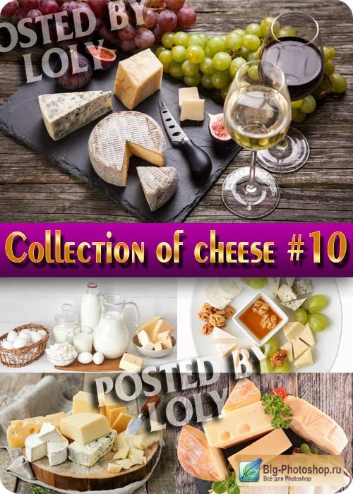 Food. Mega Collection. Cheese #10 - Stock Photo
