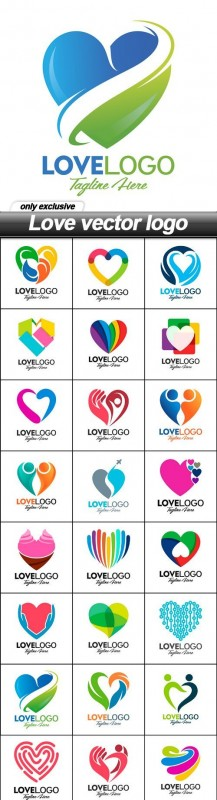 Love vector logo - 39 EPS