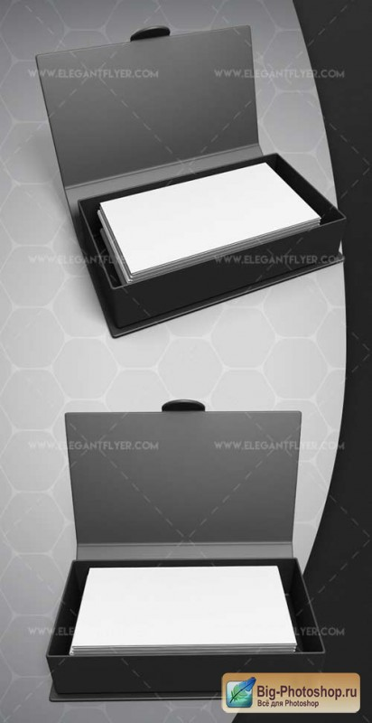 Card box V1 2018 3d Render Templates