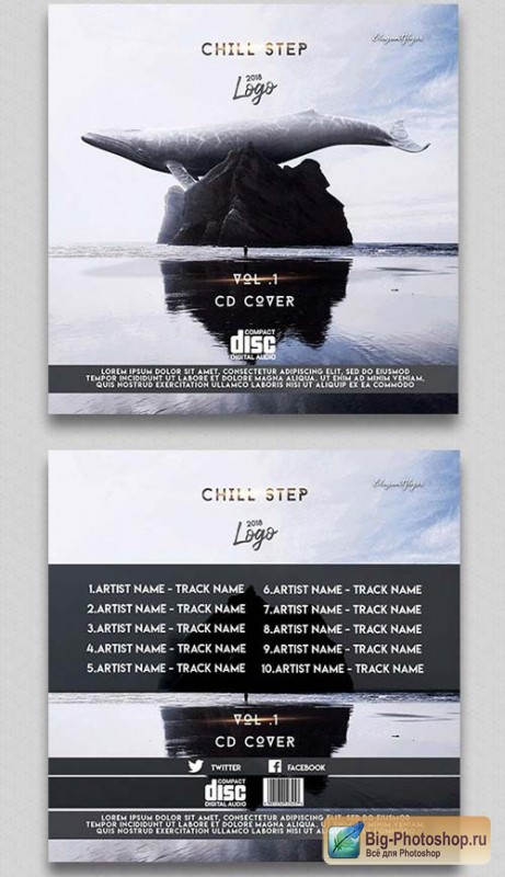 Chill Step V1 2018 Cd Cover