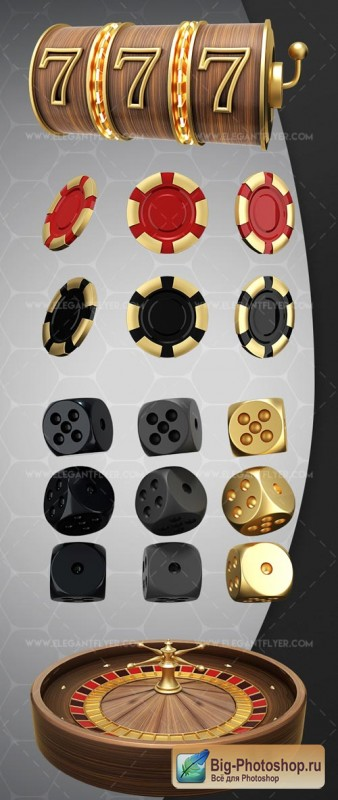 Casino V1 2018 3d Render Templates