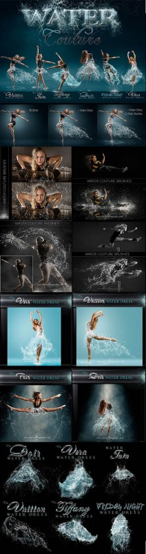 Shirk Photography - Water Couture for Photoshop