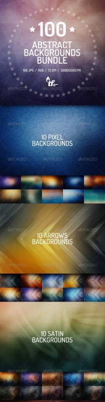 GR-100 abstract backgrounds bundle 7577567