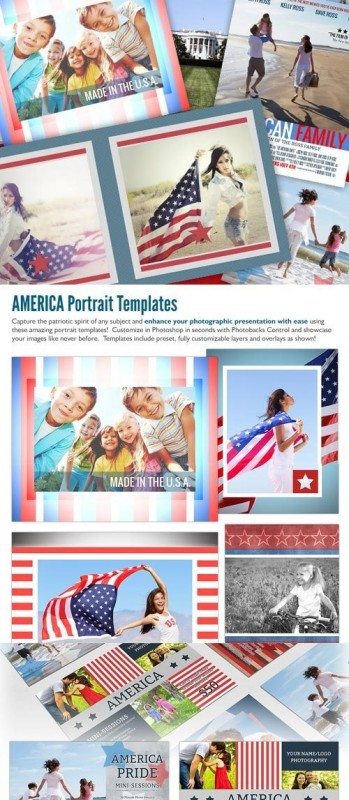 PhotoBacks - America Pack