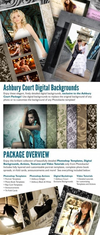 PhotoBacks - Ashbury Court Package