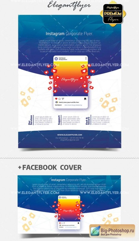 Instagram Promotion V3 2018 PSD Flyer Template