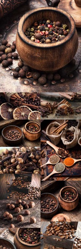 Fragrant spices seed coffee tack cinnamon