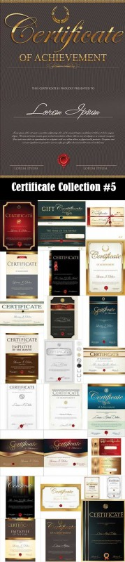 Certificate Collection #5, 25xEPS