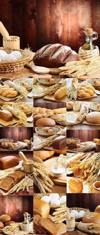 Bread Compositions Collection 50xJPG