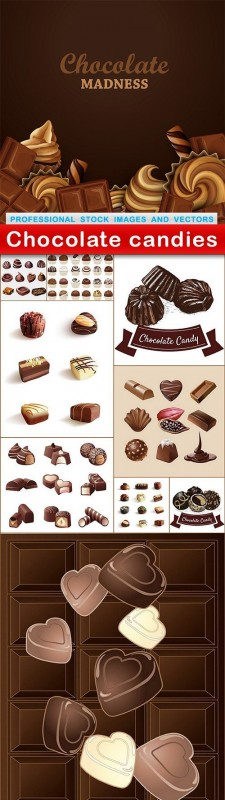 Chocolate candies - 10 EPS