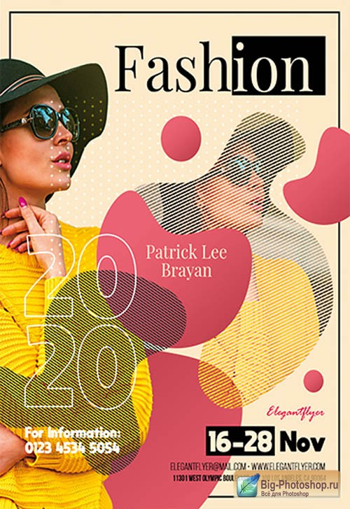 Fashion 2020 V0911 2019 PSD Flyer Template